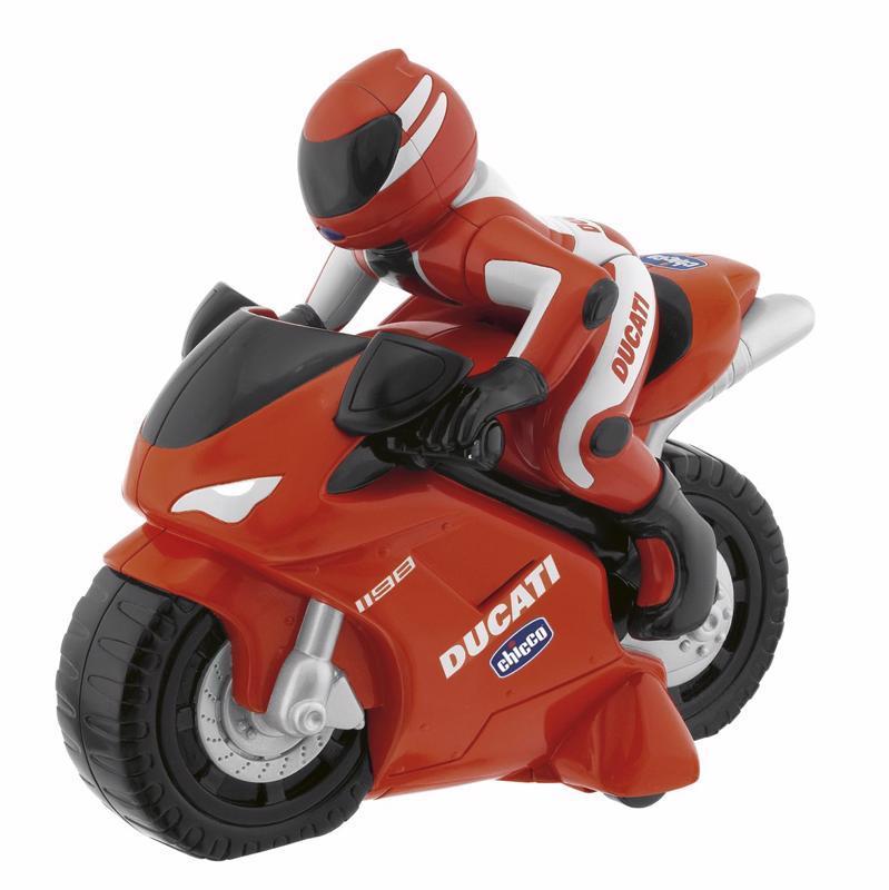 Motorka Ducati na dialkové ovládanie 2+