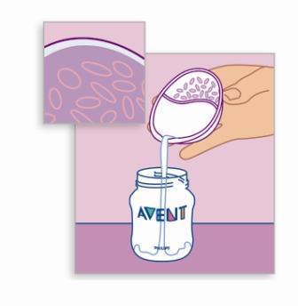 Avent zberače materského mlieka 2 ks