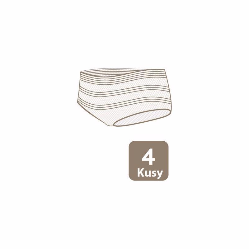 Elastické nohavičky po pôrode 4ks v balení