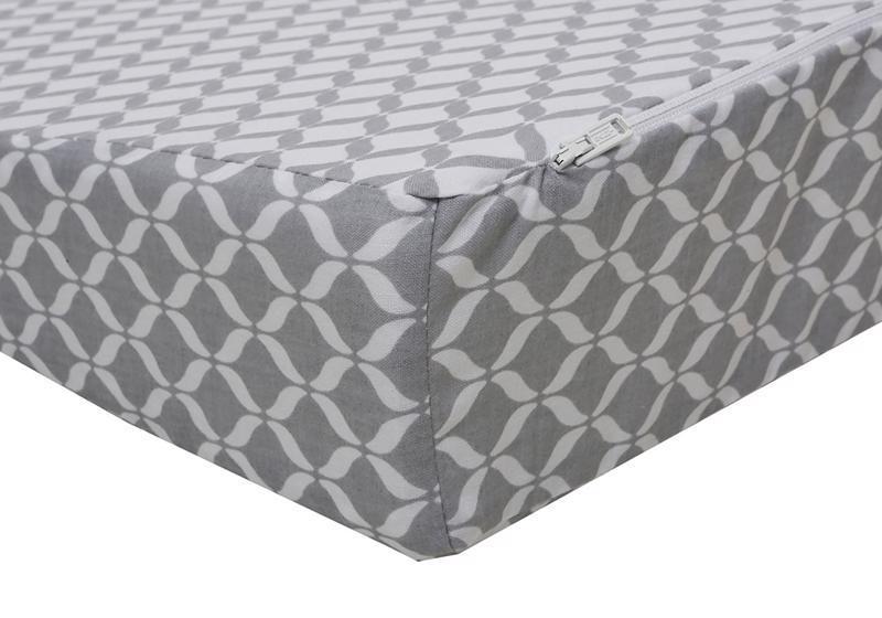 MOTHERHOOD Vankúš klín Grey Classics 60x45cm, 0-6m