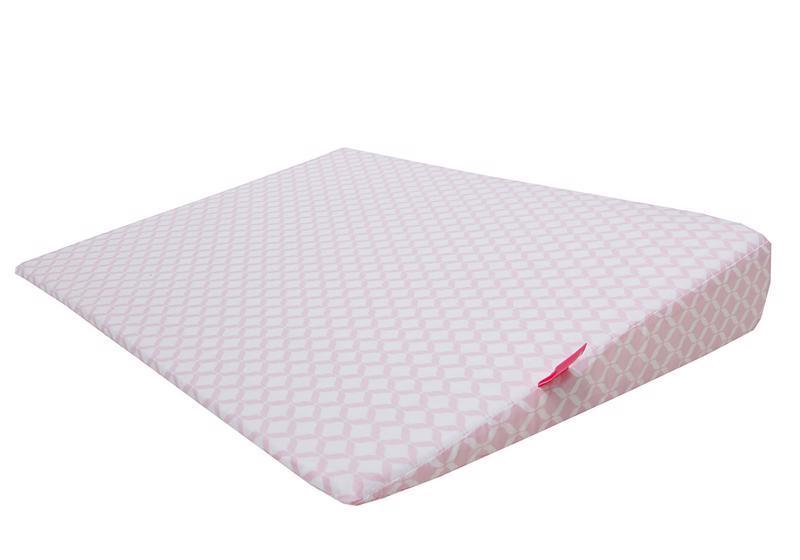 Vankúš klín Pink Classics 60x45cm, 0-6m