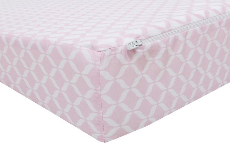 MOTHERHOOD Vankúš klin Pink Classics 60x45cm, 0-6m