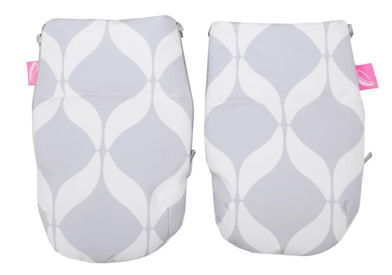 MOTHERHOOD Rukavice na kočík Softshell Classics Grey 1 pár,  V000733