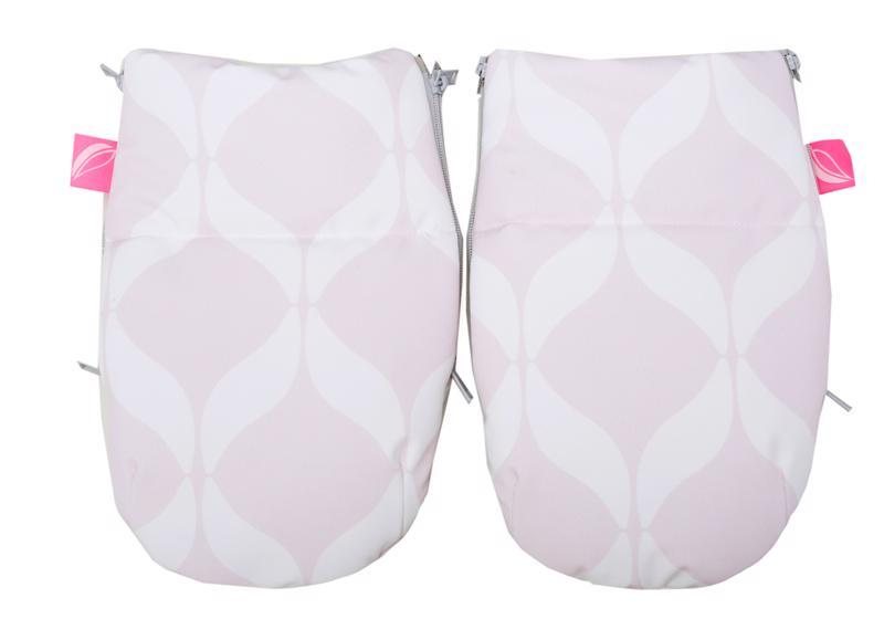 MOTHERHOOD Rukavice na kočík Softshell Classics Pink 1 pár,  V000733