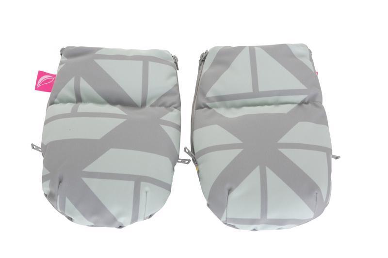 MOTHERHOOD Rukavice na kočík Softshell Boats Mint 1 pár,  V000733