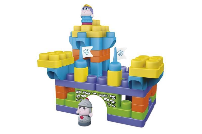 CHICCO Hračka stavebnice App Toys 70ks - Hrad 1+,  V001016