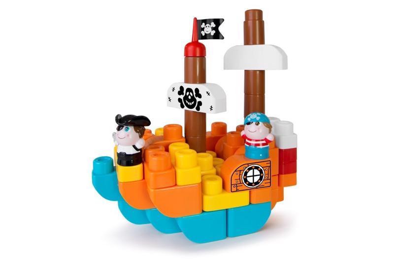 CHICCO Stavebnica App Toys 60ks - Ostrov pokladov 1+,  V001016