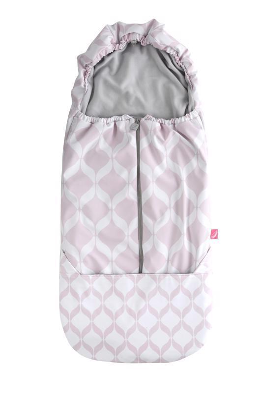 Fusak do kočíka Softshell Classics Pink Motherhood