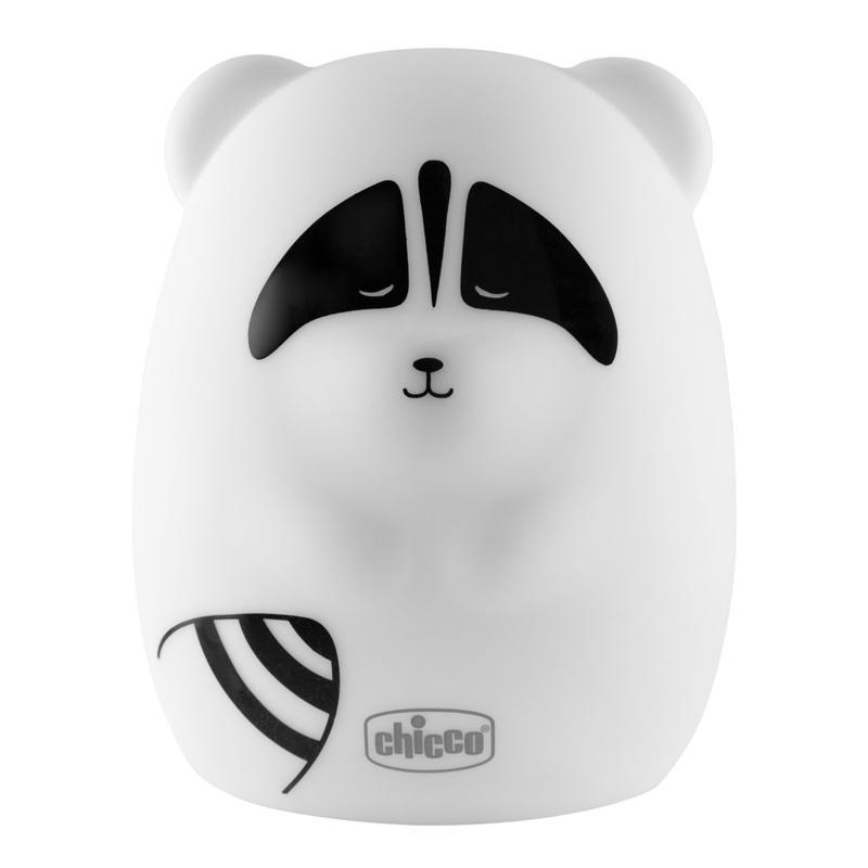 Lampička nočné svetlo dobíjateľné, prenosné Chicco - Medvedík čistotný
