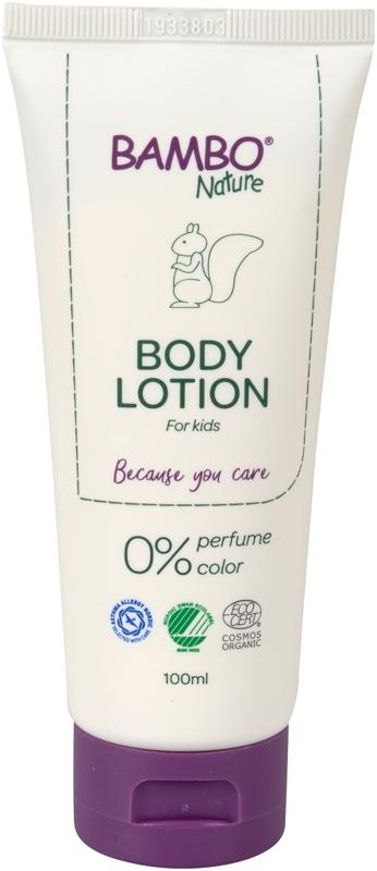 BAMBO Nature Mlieko telové 100 ml, neparfumované