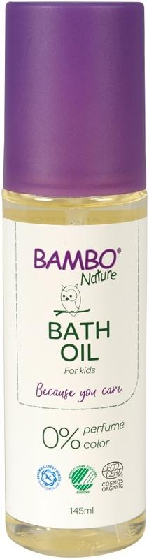 BAMBO Nature Olej telový po kúpeli, 145 ml