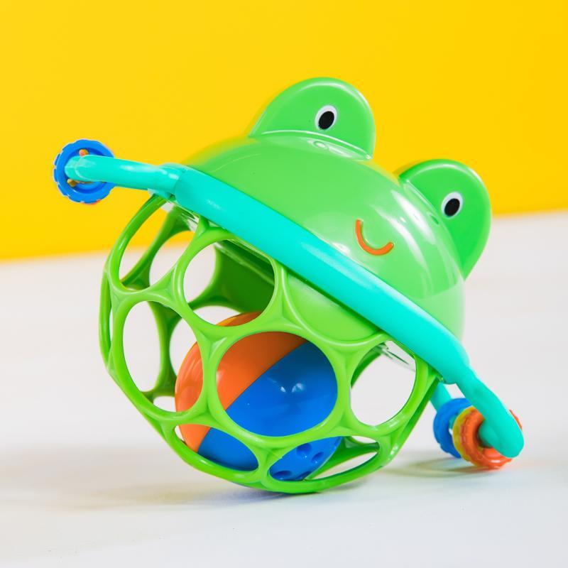 Hračka žabka Oball Jingle&Shake Pal™ 0m+