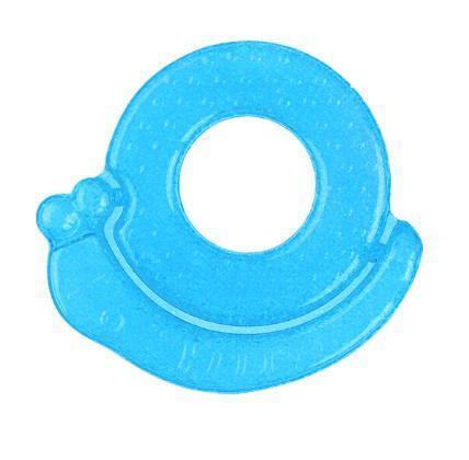 BABYONO Hryzačka chladiaca slimák - modrá