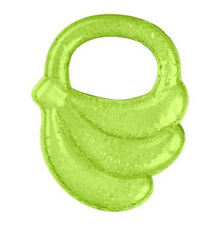 BABYONO Chladiaca hryzačka gélová banán - zelená