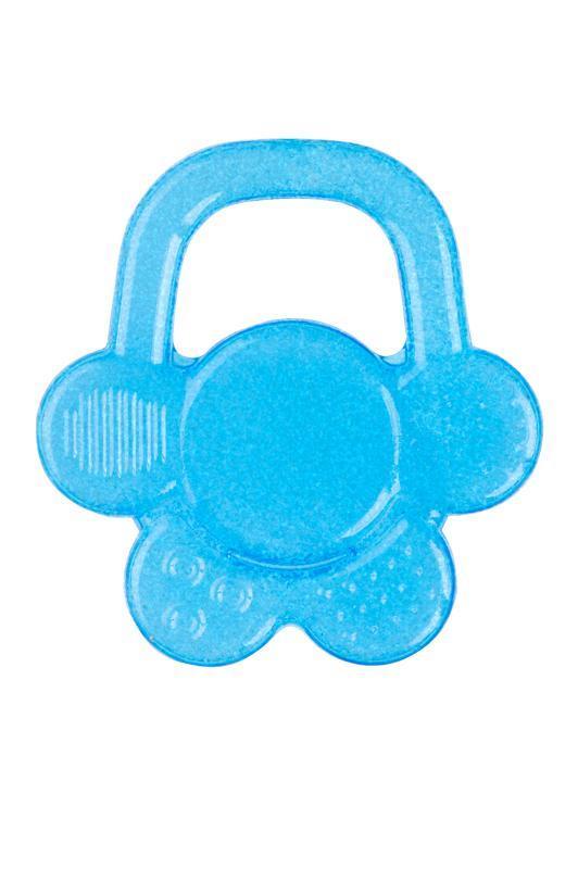 BABYONO Hryzačka chladiaca kvet - modrá