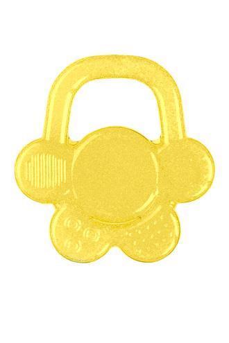 BABYONO Hryzačka chladiaca gélová kvet - žltá