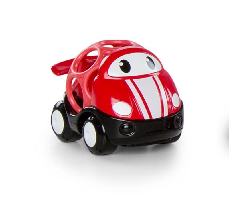 Hračka autíčko pretekárske Jack Oball Go Grippers™ červená 18m+,  červená