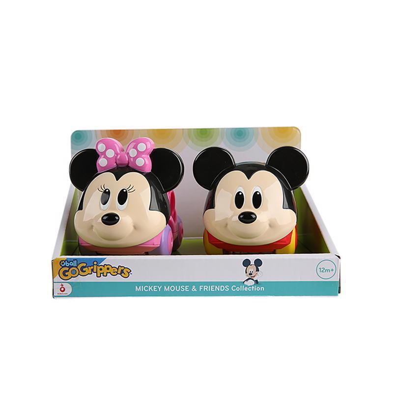 DISNEY BABY  Hračka autíčka Mickey Mouse & Friends Go Grippers™ 2ks, 12m+
