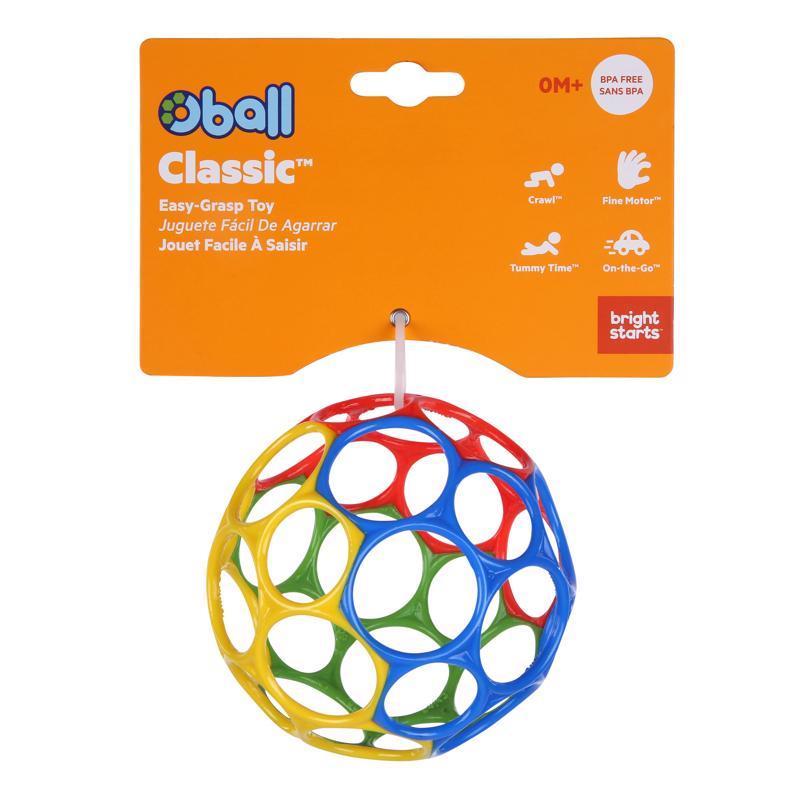OBALL Hračka Oball™ Classic 10 cm mix farieb 0m+