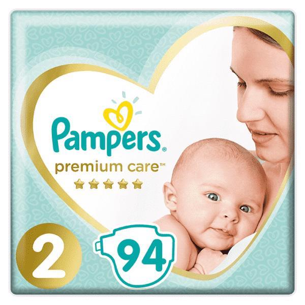 PAMPERS Plienky Premium Care 2 MINI 4-8kg 94 ks,  V001552