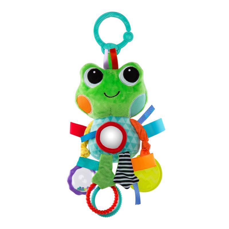 Hračka na C krúžku Playful Pals žaba 0m+