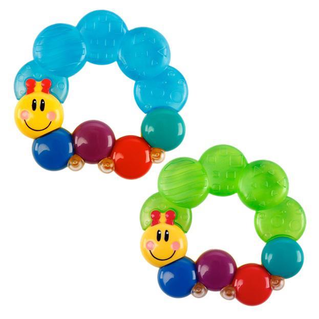 Hryzačka plnená vodou Teether-pillar™ 3m+