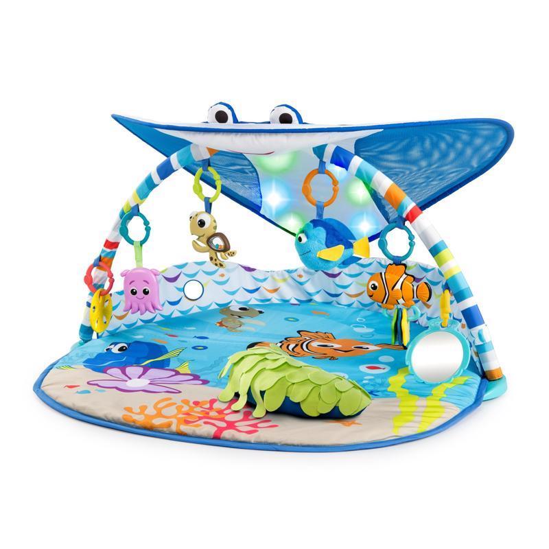 DISNEY BABY  Deka na hranie svetelná Hľadá sa Nemo - Pán Rajka 0m+ 2019,  V000188