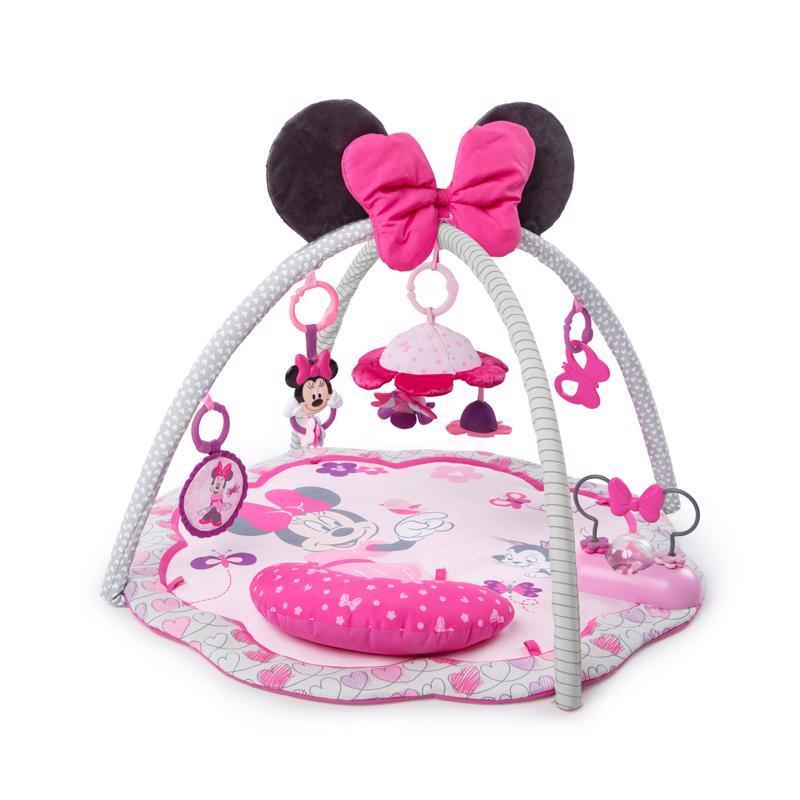 DISNEY BABY Deka na hranie Minnie Mouse Garden Fun 0m+ 2019,  V000188