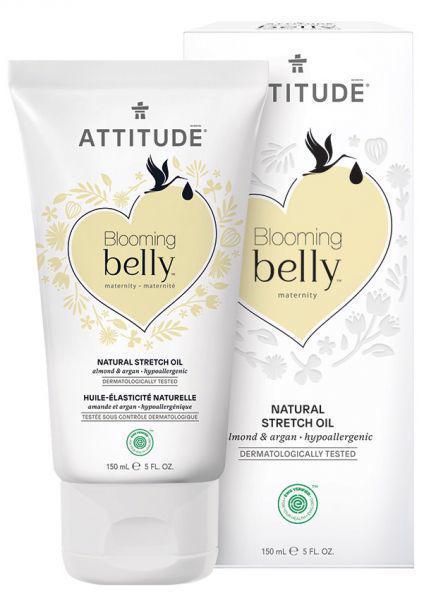 ATTITUDE Prírodný olej Blooming Belly pre tehotné a po pôrode – argan a mandle 150 ml
