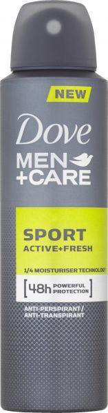 Deo sprej Men+Care Active Fresh 150ml Dove