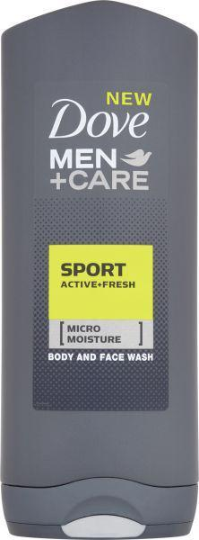 DOVE Men+Care Sport Active Fresh Sprchový gel 400 ml