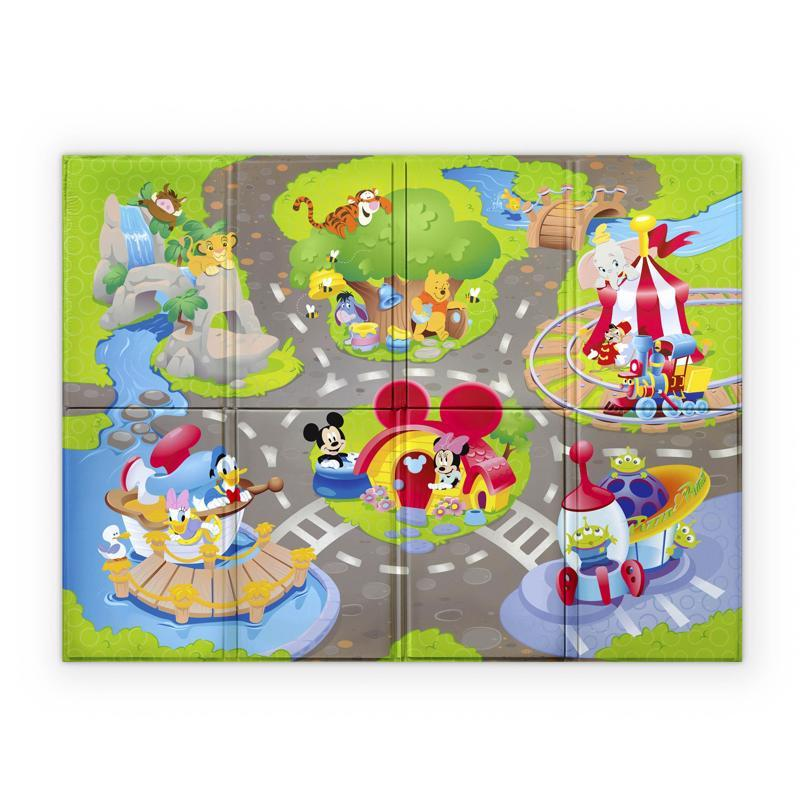 Podložka penová skladacia Disney Pals 120 x 89cm 6m+