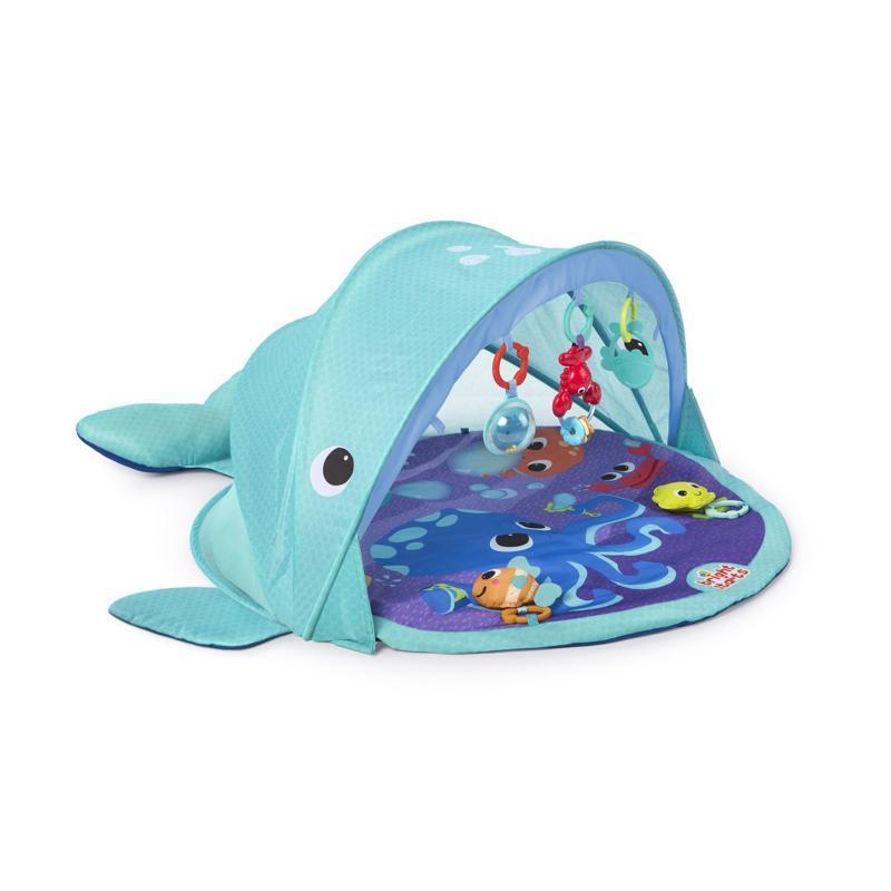 Deka na hranie s UPF 50 filtrom Explore&Go veľryba 0m+