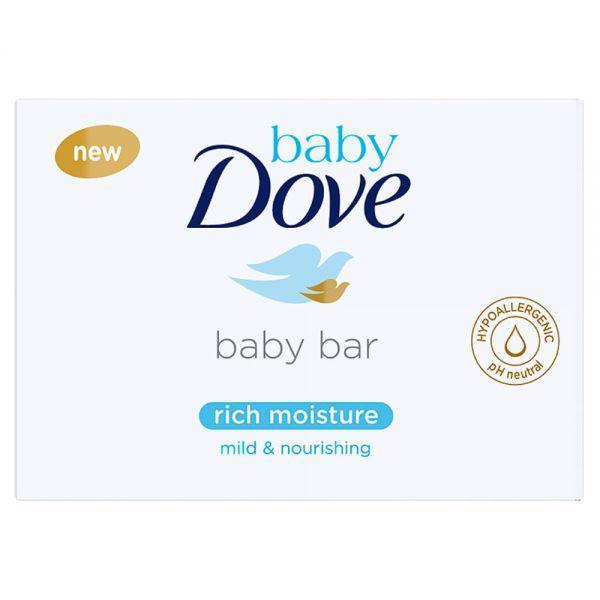 BABY DOVE Tableta na umývanie krémová 75g