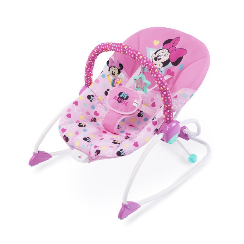 Húpatko vibrujúce Minnie Mouse Stars & Smiles Baby 0m+, do 18kg, 2019