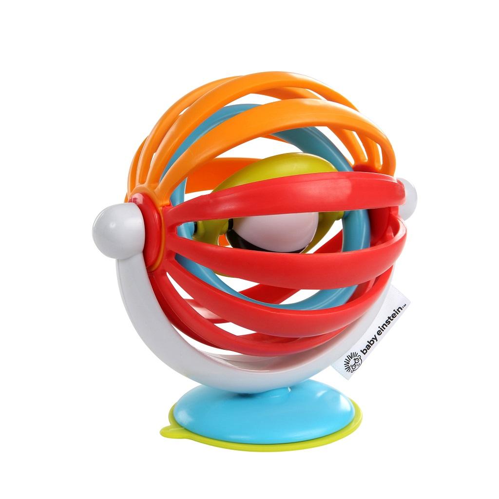 BABY EINSTEIN Hračka aktívna sprísavkou Sticky Spinner™ 3m+