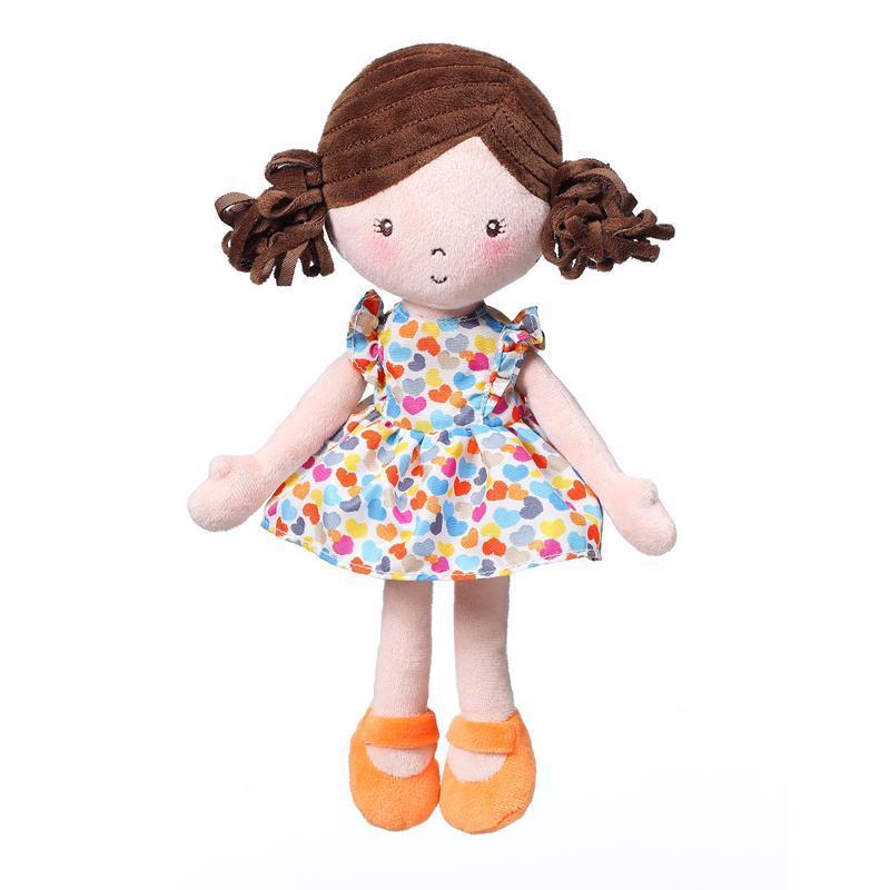BABYONO Hračka bábika Lena oranžová