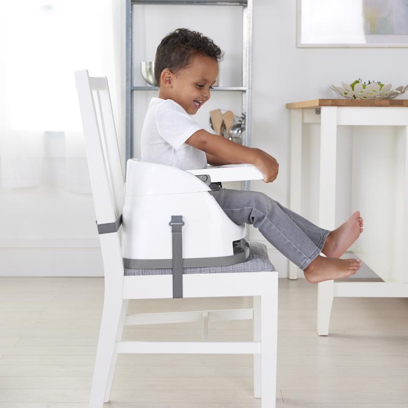 INGENUITY Podsedák na stoličku 2v1 Baby Base Ultramarine Green 6 m+, do 22 kg