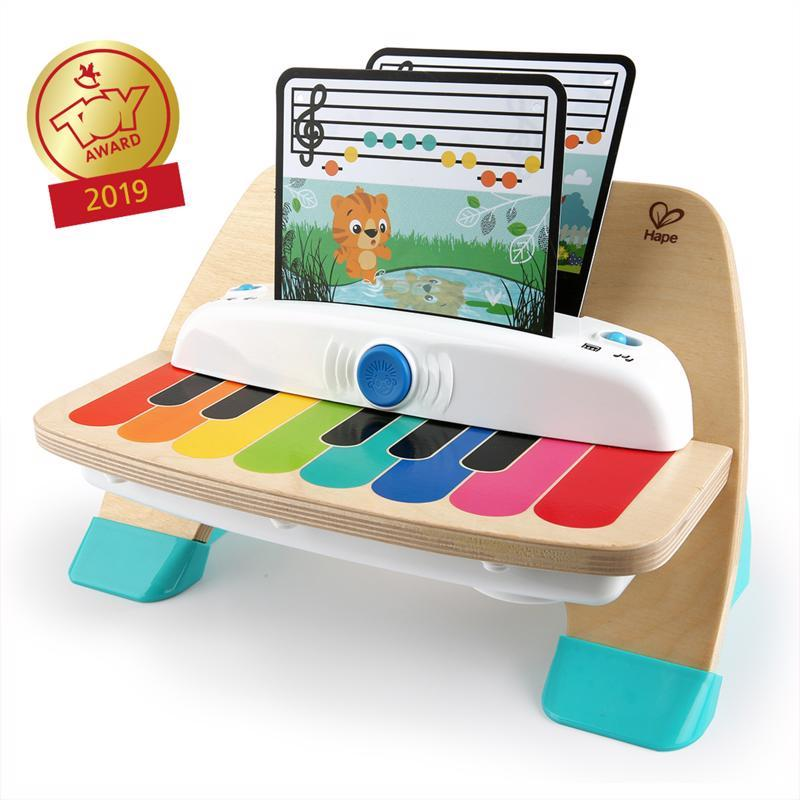 BABY EINSTEIN Hračka drevená hudobná klavír Magic Touch HAPE 12m+
