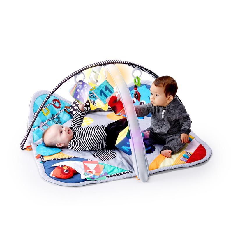 BABY EINSTEIN Deka na hranie svetelná Sensory Play Space extra veľká 0m+ 2019