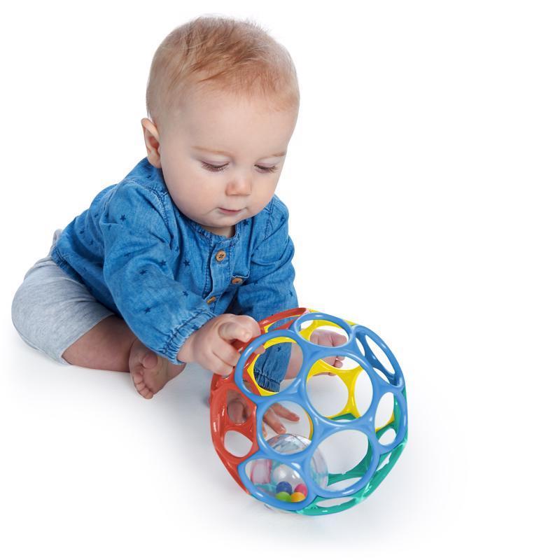 OBALL Hračka Oball™ Roller, 6m+ tyrkysová
