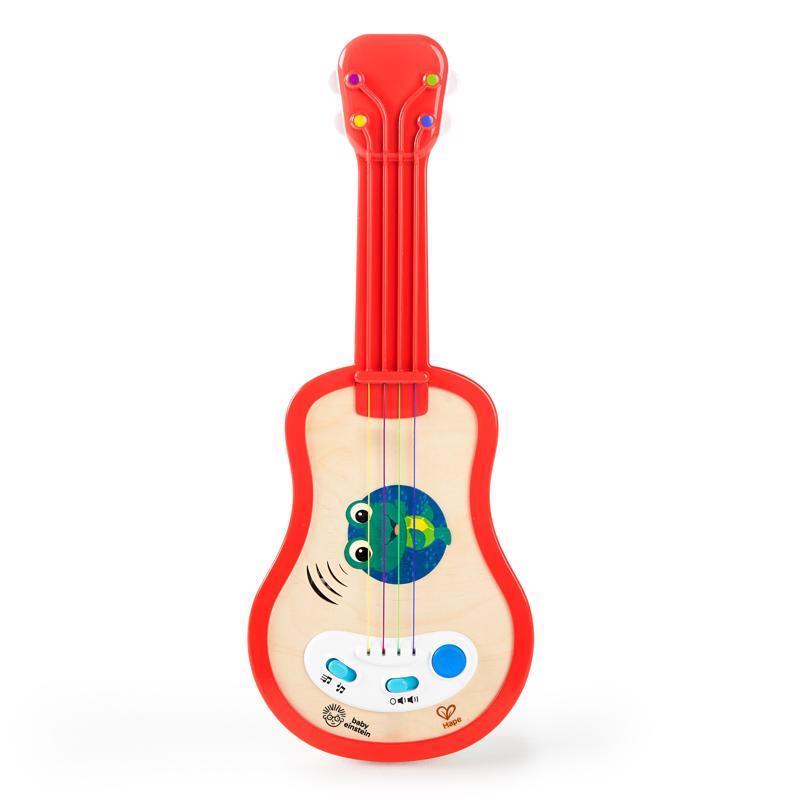 BABY EINSTEIN Hračka drevená hudobná ukulele Magic Touch HAPE 12m+