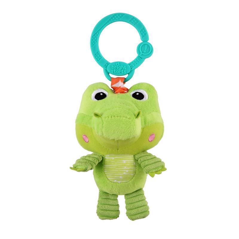Hračka plyšová na C krúžku Take 'n Shake krokodíl 0m+