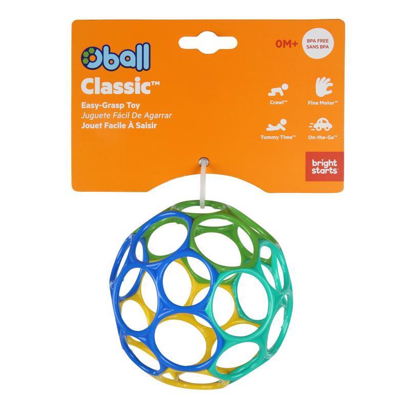OBALL Hračka Oball™ Classic 10 cm modro / zelená 0m+
