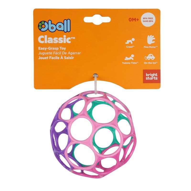 OBALL Hračka Oball™ Classic 10 cm ružovo / fialová 0m+