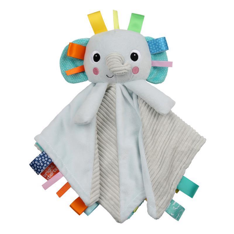 Dečka maznacia s hlavou Cuddle'n Tags slon 0m+