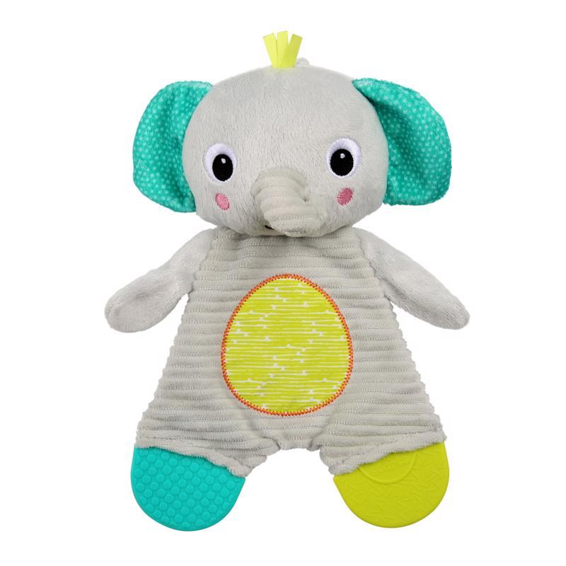 Hračka - hryzačka Snuggle&Teethe slon 0m+