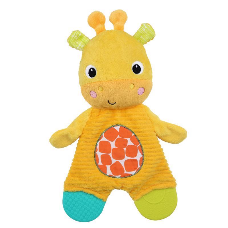 Hračka - hryzačka Snuggle&Teethe žirafa 0m+