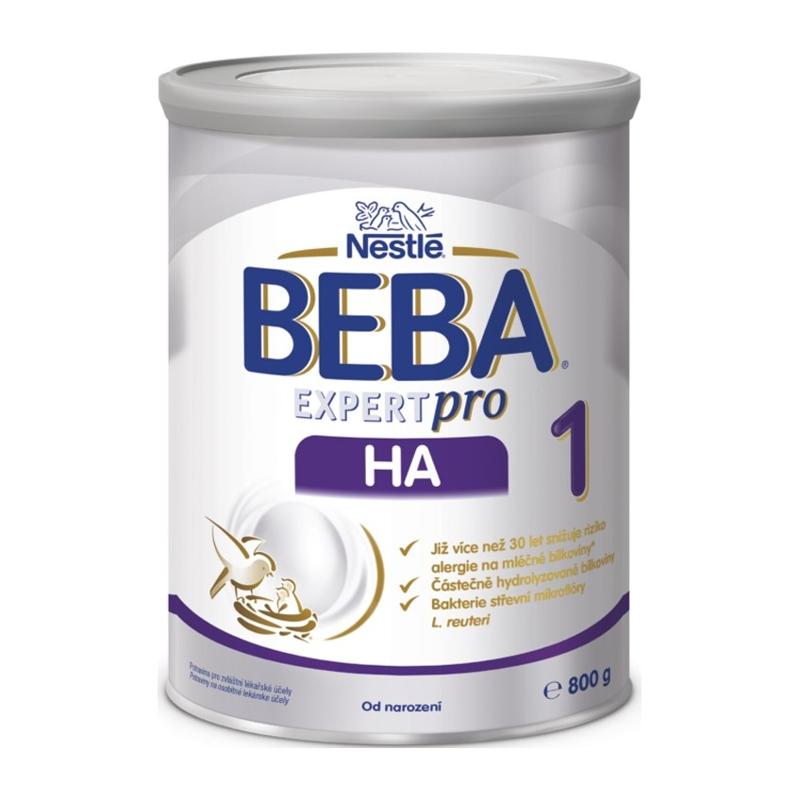 BEBA EXPERTpro HA 1, Mliečna počiatočná výživa 800 g