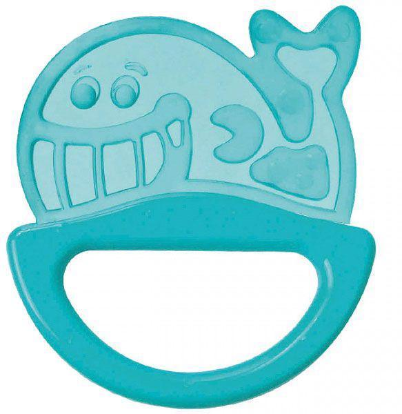 Hrkálka s hryzačkou zvieratko - modrá